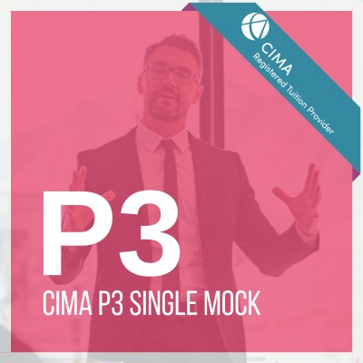 CIMA P3 Single Mock 2019
